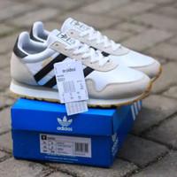 Sepatu Adidas Haven White List Black Leather Original BNWB - 40