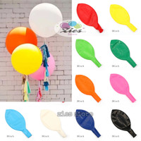 balon latex doff / balon karet polos jumbo 36inch - pink