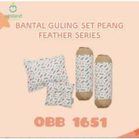 Omiland set bantal guling bayi/bantal bayi/guling bayi/set bantal bayi