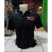 Kaos Polo Shirt Baju Kerah Distro YOUTUBE NAMA CHANNEL polos custom