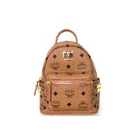 MCM Stark Bebe Boo Mini Backpack in Visetos Cognac ORIGINAL FO ORI