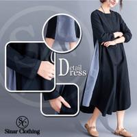 Baju Atasan Wanita Tunik Jumbo Import Lengan Panjang Jumbo Big Size