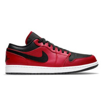 Nike Air Jordan 1 Low Banned/Reverse Bred Gym Black Red ORIGINAL BNIB