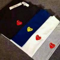 T Shirt oblong kaos play cdg Comme des garcons s m l xl 2xl 3xl 4xl - S