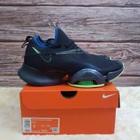Sepatu Nike Air Zoom Superrep Black Valerian Blue Unisex (36 s/d 45)