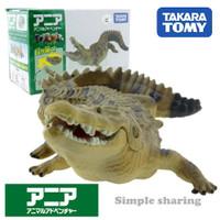 Miniatur Hewan Buaya Takara Tomy Tomica Ania AS-32 Crocodile Animal