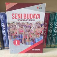 Buku SENI BUDAYA SMP/MTS KELAS 7 KURIKULUM 2013 REVISI Erlangga