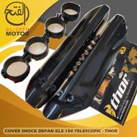 Cover Pelindung Shock Depan KLX 150 Telescopic Hitam - THOR