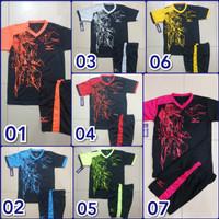 Baju Olahraga Setelan Kostum Futsal ANAK Motif Pecahan Kaca TERBARU