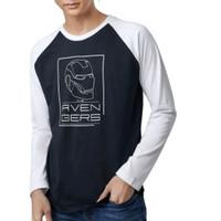 avengers marvel longsleeve shirt kaos lengan panjang laki-laki eksport