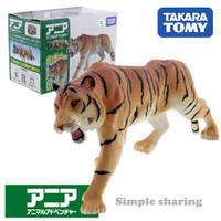 Miniatur Hewan Harimau Takara Tomy Tomica Ania AS-30 Tiger Animal