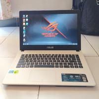 Asus A450C Putih SSD 256GB RAM 8GB Intel i3 NVIDIAGEFORCE Laptop Bekas