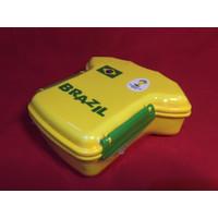 LUNCH BOX TEMPAT MAKAN BAJU BOLA BRAZIL PIALA DUNIA
