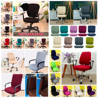 OFFICE CHAIR COVER Polyester Spandex-Sarung Kursi Kantor Putar Size: L