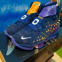 Nike Lebron 17 monstars space jam cd5050 sepatu basket ungu original