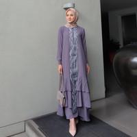Baju Gamis Syari Wanita Terbaru Ranai Maxy Dress Termurah