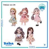Mainan Boneka Barbie Korea Princess Cantik Elegan 12 Join Doll 3D 16cm