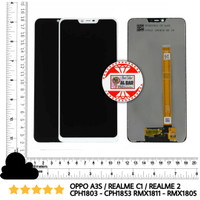 LCD TOUCHSCREEN OPPO A3S CPH1803 CPH1853 REALME C1 2 RMX1811 RMX1805 - Putih