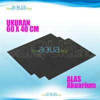 Busa ati 60 x40 cm - alas akuarium - tatakan aquarium - garden mat