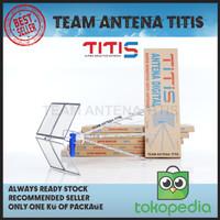 Antena TV Titis TT1000 Digital dengan Kabel Premium dan Konektor