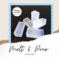 Melt And Pour Soap Base Clear Transparant DIY Bahan Sabun Cerak Leleh - 100gr Transpara