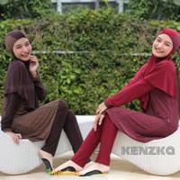 Baju Renang Wanita Muslimah Muslim Dewasa Standar Aghnisan RGD ST