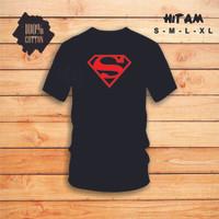 Baju KAOS SUPERMAN   Kaos LOGO SUPERMAN   Kaos SUPERHERO Dewasa