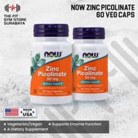 Now Foods Zinc Picolinate 60 Veg Capsules