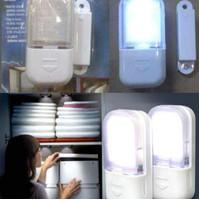 Lampu sensor otomatis lemari LED
