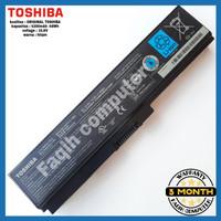Baterai Original Laptop Toshiba Satellite C600 C640 C645 C650 PA3817
