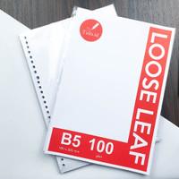 [Tulis.Id] Kertas Loose Leaf Binder Paper B5 100 GSM Grid Dotted Blank