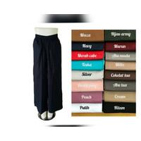 Celana Kulot Katun Strech XL - XXL