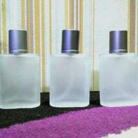 botol parfum kotak oval kaca drat aqua digio 30 ml doft