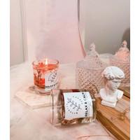 Lilin aromaterapi gel bunga kering ( aromatherapy scented candle )