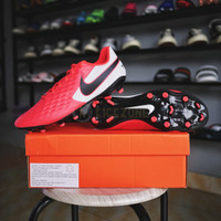 Sepatu Bola Nike Legend 8 Academy FG MG Red White Original Nike Tiempo