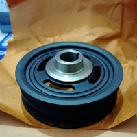 Pully Pulley Kruk As Crankshaft Dumper Chevrolet Spark 1200 1.2 Ori GM