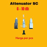 Attenuator SC 10dB FO/FIBER OPTIK