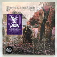 Black Sabbath - 180 Gram LP Vinyl Piringan Hitam PH