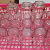 gelas beling gagang kecil/ gelas beling gagang murah/ cangkir kopi