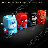Rautan putar koleksi superhero avengers spiderman captain america