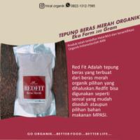 Sereal Beras Merah Tepung Beras Merah Organik RedFit Eka Farm 200 gram