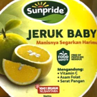 buah jeruk baby pasti manis banyak airnya
