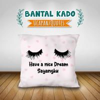 Bantal sofa Bantal Kado hadiah Wisuda pernikahan Bantal Custom 40×40 - 40×40