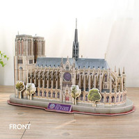 CUBICFUN City Traveler Paris - 3D Puzzle