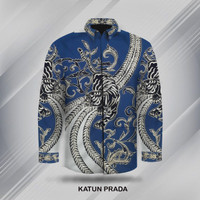 bahan baju batik tulis prada | motif naga