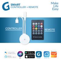 GALVEE Smart LED Strip Controller + Remote