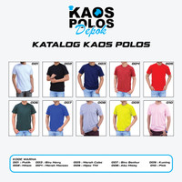 Kaos Polos Cotton Combed 30s Reaktif Bandung Size S M L XL XXL