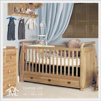 box bayi jati, tempat tidur bayi, box bayi kayu, ranjang bayi