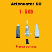 Attenuator SC 5dB FO/FIBER OPTIK