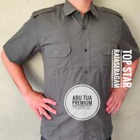 Baju PDH Net Tv Pilot PREMIUM Pangkat Katun Tropical Werpak Kemeja